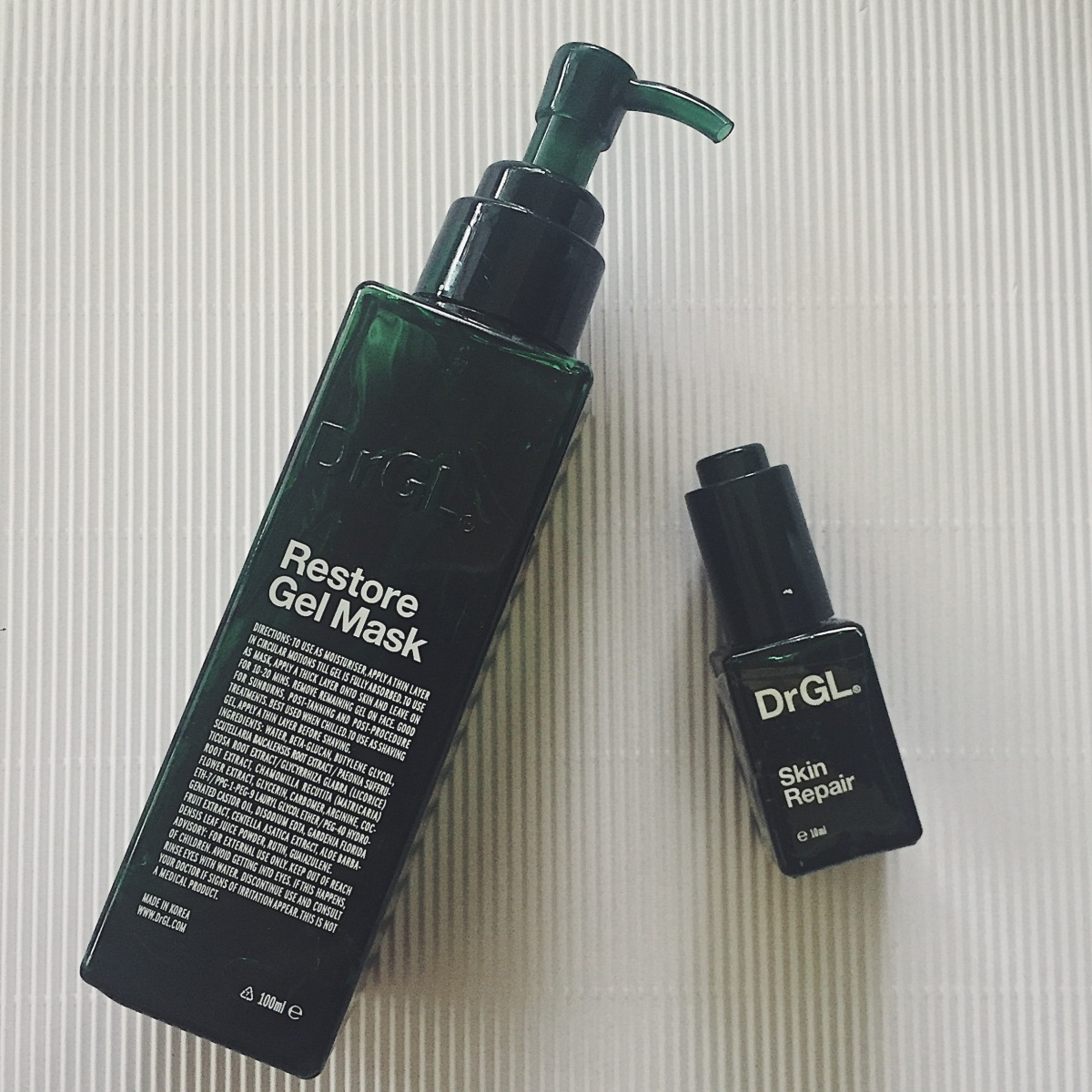 [GO4GLOW Review]: DrGL Restore Gel & Skin Repair - total HG for irritated, red & acne-prone skin