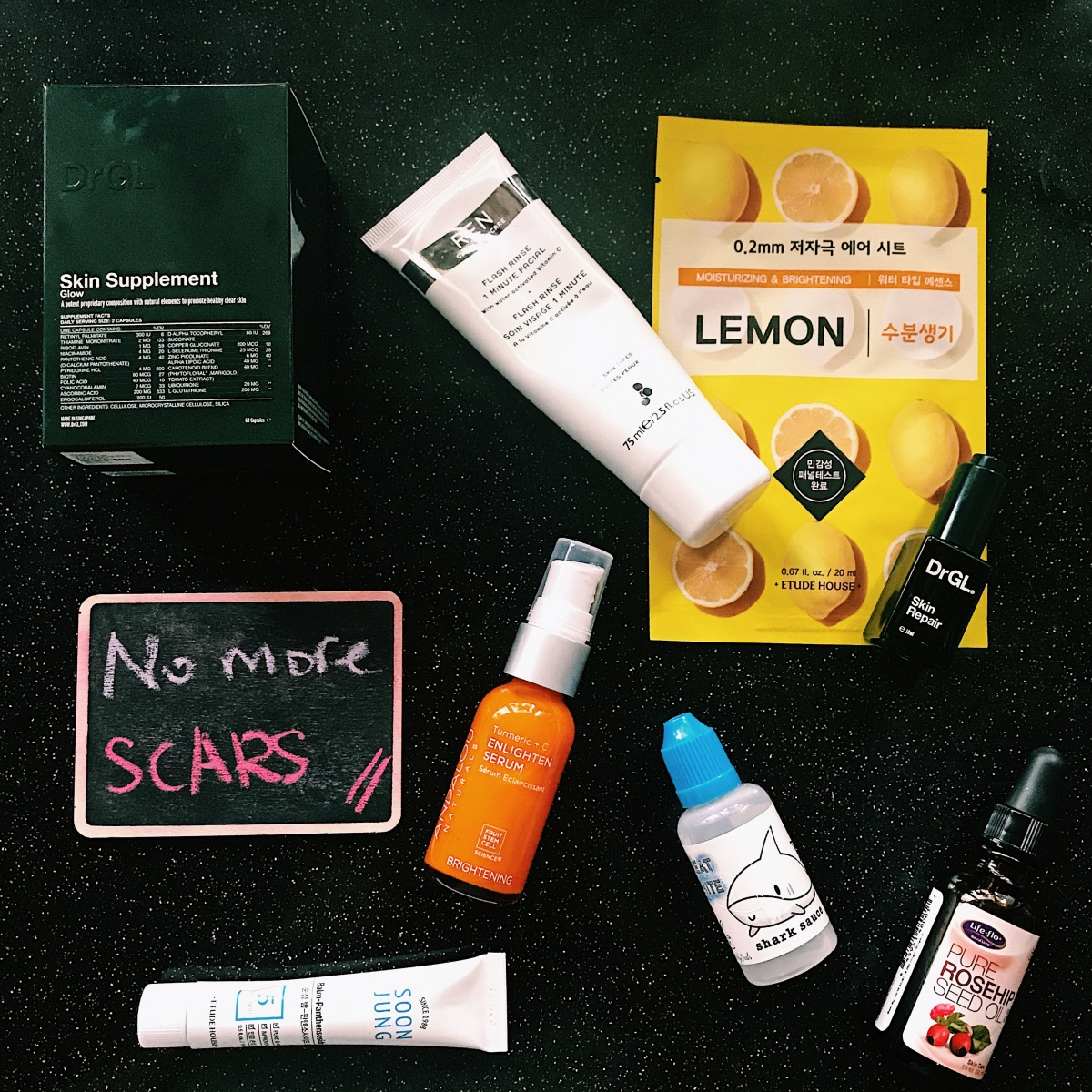 [GO4GLOW Vitamin C spotlight]: The only 5 things you will ever need to heal your acne scars